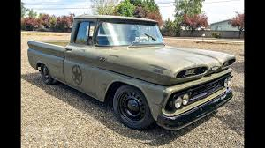 100 1960 Chevy Truck C10 Military Themed Tribute YouTube