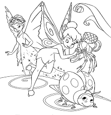 Tinker Bell Painting Coloring Pages For Kids Printable Free Best Of Tinkerbell