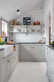 21 Small Kitchen Design Ideas Photo Gallery Gray CabinetsGray