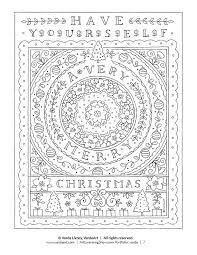 Free 92 Page Holiday Coloring Book