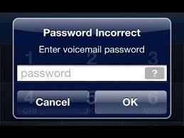 AT&T Voicemails password by default