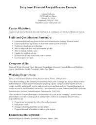 Job Resume Summary Examples For Any Builder Skills Career