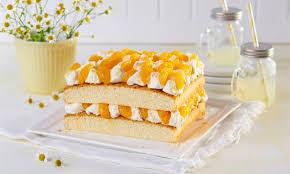kleine zitronen mandarinen torte