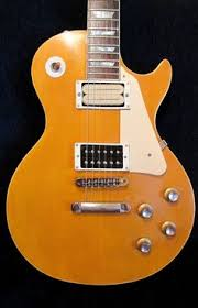 1970s Set Neck Les Paul Plaintop Natural Relic Gibson Parts