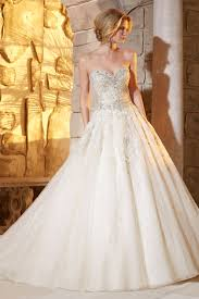 1 2 2016 Wedding Dresses Sweetheart Organza With Applique And Beads