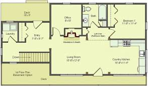 Floor Plans Walkout Basement Inspiration by Walk Out Basement Design 16 Inspiring Floor Plans For Ranch Homes