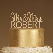 Rustic Cake Topper Wood Monogram Mr And Mrs Wedding 2214513