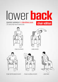 Lower Back Workout (Chair). Www.bacrac.co.uk/ | Relax & Yoga ... Two Key Exercises To Lose Belly Fat While Sitting Youtube Chair Exercise For Seniors Senior Man Doing With Armchair Hinge And Cross Elderly 183 Best Images On Pinterest Exercises Recommendations On Physical Activity And Exercise For Older Adults Tai Chi Fundamentals Program Patient Handout 20 Min For Older People Seated Classes Balance My World Yoga Poses Pdf Decorating 421208 Interior Design 7 Easy To An Active Lifestyle Back Pain Relief Workout 17 Beginners Hasfit