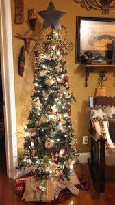 7ft Cashmere Pencil Christmas Tree by My Primitive Christmas Tree Oh Christmas Tree Pinterest