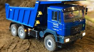 100 Blue Dump Truck RC S In Action Amazing RC Show Bruder Tamiya And More