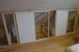 porte coulissante chambre porte coulissante placard sur mesure pour construire sa maison