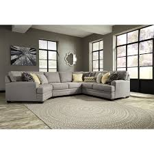 Cresson Contemporary 4 Piece Sectional with Cuddler by Benchcraft