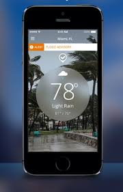 Weather Channel for iPhone gains detailed hurricane tracking boat