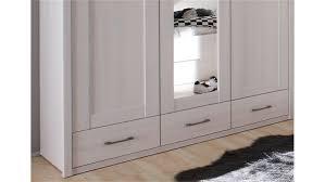 kleiderschrank jugendzimmer luca pinie weiß und trüffel