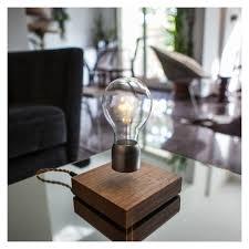 Lumio Book Lamp Walnut by Flyte Levitating Light Bulb Walnut U0026 Chrome The Conran Shop