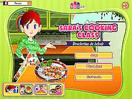 jeu ecole de cuisine de brochettes de kebab école de cuisine de