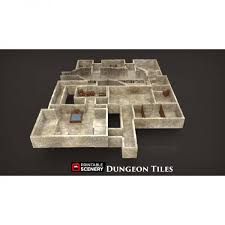 3d Dungeon Tiles Uk by Dungeon Tiles Base Set U2013 Printable Scenery