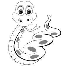 50 Free Printable SNAKE Coloring Pages Huge Collection