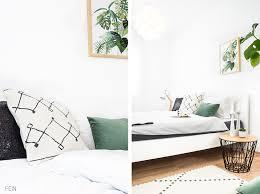 grün grüner greenery schlafzimmer styling fein und