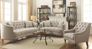 avonlea grey living room set from coaster coleman furniture