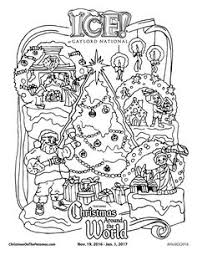 Downloadable Coloring Page From ICE At Gaylord National Resort In Harbor MD