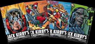 The Fourth World Mythos Consisted Of Four Comics Titles That Jack Kirby Wrote Illustrated And Edited For DC From Late 1970 To 1973