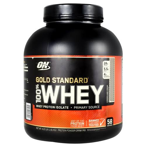 Optimum Nutrition Gold Standard 100% Whey Protein Powder Mix - 4.22lb