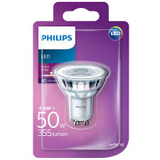 philips led gu10 50w spotlight bulb lighting bulbs led