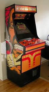 Rasmus Koenig Sorensens Project MAME Arcade Cabinet With Thundercats Side Art
