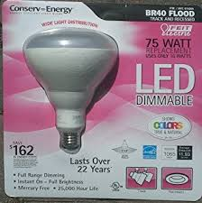 feit br40 927 led 100w equivalent dimmable led br40 light soft