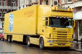 This Is A Typical Dutch Flower Truck Most Trucks Have Distinctive Liveries And Airbrush Murals Example Colour Coded Has Single Mural On Each