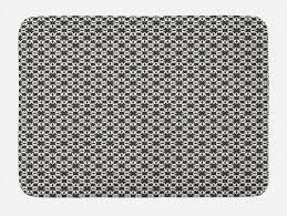 badematte plüsch badezimmer dekor matte mit rutschfester rückseite abakuhaus modern königliche fliese motiv muster kaufen otto