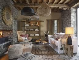 decke aus schwarzer und ecrufarbener baumwolle und goldfarbenem lurexgarn mit quasten 160x210cm maisons du monde