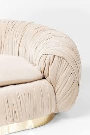 stoff 65 x 195 x 119 cm kare sofa perugia 2 sitzer beige h