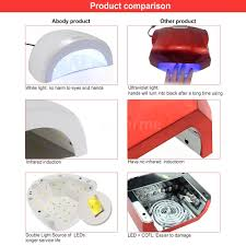 Induction Lamps Vs Led by Abody Sunone Led Uv Lamp Nail Polish Dryer Gel Curing White Light
