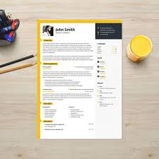 Resume Template With Photo CV Template Cover Letter Instant