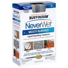 Fresh Drop Bathroom Odor Preventor Msds by Rust Oleum Neverwet 18 Oz Neverwet Multi Purpose Spray Kit 274232