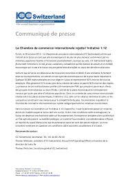 chambre de commerce 12 la chambre de commerce internationale rejette l initiative 1 12