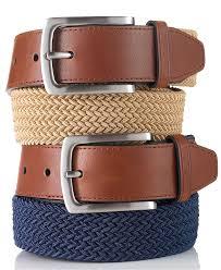 club room braided casual belt belts u0026 suspenders men macy u0027s