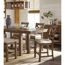 Moriville Rectangular Dining Room Counter Extension Table