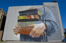 Famous Street Mural Artists by 40 Examples Of Street Art And Murals About Books Libraries And