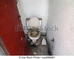 Super Gross Public Bathroom