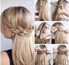 Bad Braid By Day Diy Easy Girl Girly