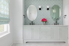 sky blue bathroom vanity design ideas