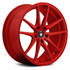 100 Tires And Wheels For Trucks KONIG OVERSTEER Red Rims