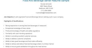 cocktail waitress resume sles serving resume exles resume