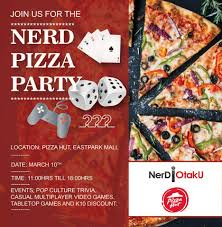 Come Have Some Pizza Alongside Tabletop Games Casual Video And Pop Culture Trivia For FREE With Special Discounts On Selected As