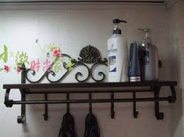 Get Quotations Fashion Wrought Iron Furniture Towel Hanging Rack Bathroom Wall Mount