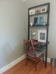 crate and barrel sloane leaning desk in northeast washington