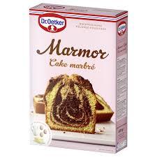 dr oetker backmischung marmor cake